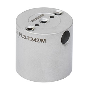PLS-T242/M - Ø25 mm Post for Polaris Mirror Mounts, Three M4 Taps, L = 24.2 mm