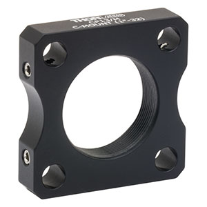 CP13/M - C-Mount-Threaded 30 mm Cage Plate, 0.35in Thick, M4 Tap