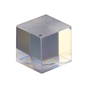 PBS10-633 - 10 mm Polarizing Beamsplitter Cube, 633 nm