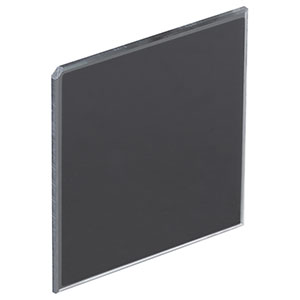 NDUV204B - Unmounted 50 mm x 50 mm UVFS Reflective ND Filter, OD: 0.4