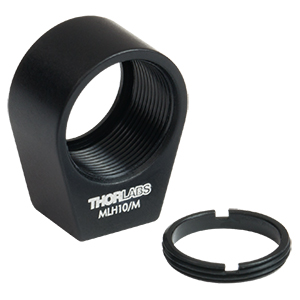 MLH10/M - Mini-Series Lens Mount with Retaining Ring for Ø10 mm Optics, M3 Tap