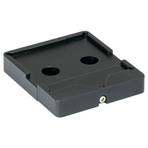 BSH2/M - Platform Mount for 2in or 50.0 mm Beamsplitters and Right-Angle Prisms, M4 Tap