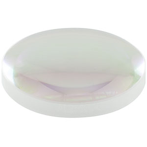 AL2550J-C - Ø25.0 mm Diffraction-Limited Aspheric Lens, f = 50.0 mm, NA = 0.20, AR Coated: 1050 - 1700 nm