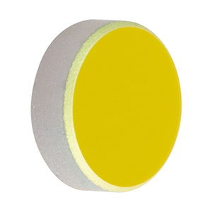 PF03-03-M02 - Ø7.0 mm Mid-Infrared Enhanced Gold Mirror