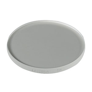 LA1258-A - N-BK7 Plano-Convex Lens, Ø1in, f = 2000.0 mm, AR Coating: 350-700 nm
