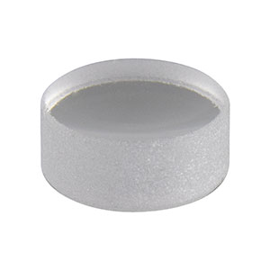 LA4036 - f = 6.0 mm, Ø3 mm UV Fused Silica Plano-Convex Lens, Uncoated