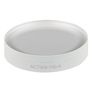 ACT508-750-A - f = 750 mm, Ø2in Achromatic Doublet, ARC: 400 - 700 nm