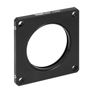 LCP6S - 60 mm Cage Plate, SM2 Threads, 6 mm Thick (One SM2RR Retaining Ring Included)