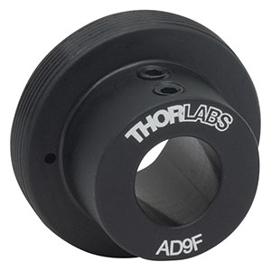 AD9F - SM1-Threaded Adapter for Ø9 mm, ≥0.35in (8.9 mm) Long Cylindrical Components