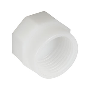 CAPX1 - Plastic Cap for FC/PC and FC/APC Bulkheads and Mating Sleeves, 10 Pack