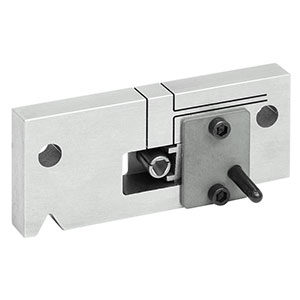 CCE20A - Locking V-Groove Mount for E2000 APC Connectors