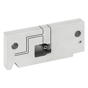 CCLMFA - Locking V-Groove Mount for LC/MU/F3000 APC Connectors