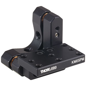 KM05PM - Kinematic Prism Mount, 0.70in Deep, 4-40 and 6-32 Taps