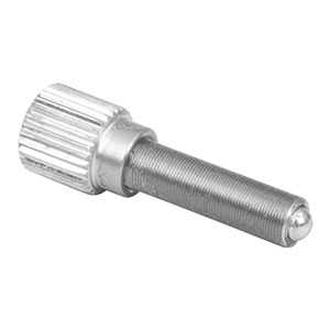 M4AS15 - Fine Adjuster with Knob, M4 x 0.25, 15 mm Long
