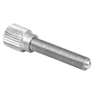 M4AS20 - Fine Adjuster with Knob, M4 x 0.25, 20 mm Long