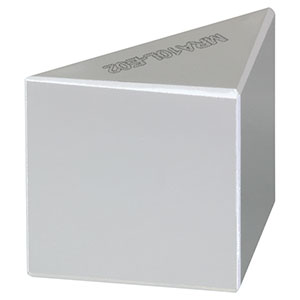 MRA10L-E02 - Leg-Coated Right-Angle Prism Dielectric Mirror, 400 - 750 nm, L = 10.0 mm