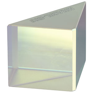 MRA20L-E03 - Leg-Coated Right-Angle Prism Dielectric Mirror, 750 - 1100 nm, L = 20.0 mm