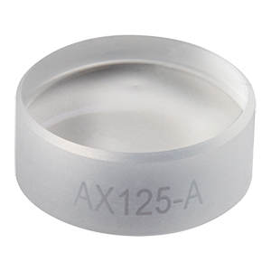 AX125-A - 5.0°, 350 - 700 nm AR Coated UVFS, Ø1/2in (Ø12.7 mm) Axicon