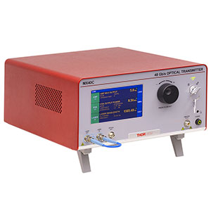MX40C-1310 - High-Speed Optical Transmitter, 1310 nm Laser, Phase Modulator, 40 Gb/s Max