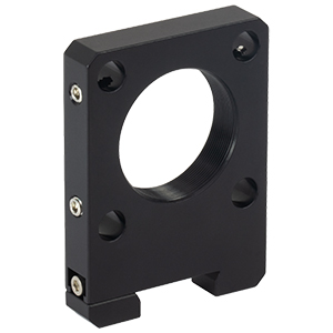 RCA7 - SM1-Threaded 30 mm Cage Plate for Dovetail Rails, 0.35in Thick, 30 mm Optical Axis Height