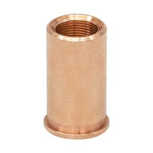 F4MSSN2P - Threaded Bushing, Phosphor Bronze, M4 x 0.25, 10 mm Long