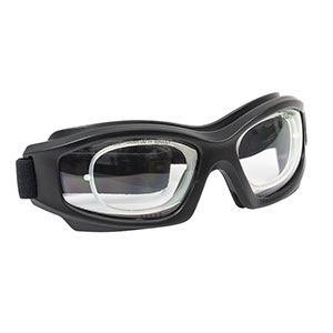 LG6C - Laser Safety Goggles, Clear Lenses, 93% Visible Light Transmission, Modern Goggle Style