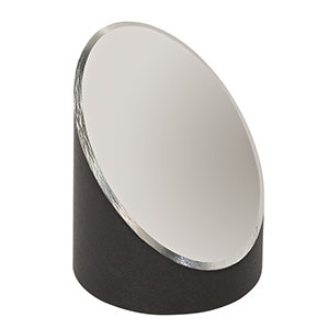 MPD139-F01 - Ø1in 90° Off-Axis Parabolic Mirror, UV Aluminum, RFL = 3in