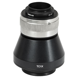 TC1X - 1X Camera Tube for LAURE1 & LAURE2 Trinoculars, C-Mount, Male D2N Dovetail