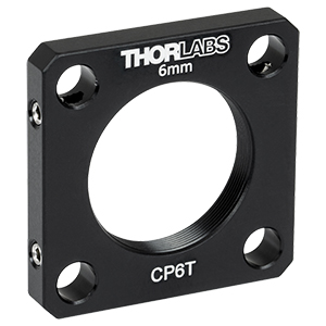 CP6T - SM1-Threaded 30 mm Cage Plate, 6.0 mm Thick