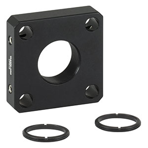 CPN18 - 30 mm Cage Plate for Ø18 mm Optic, 2 SM18RR Retaining Rings Included