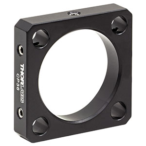 CP36 - 30 mm Cage Plate, Ø1.2in Double Bore for SM1 and C-Mount Lens Tubes