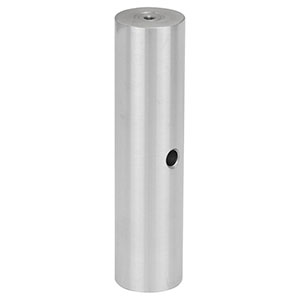 RS100P4/M - Ø25.0 mm Pillar Post, M4 Taps, L = 100 mm
