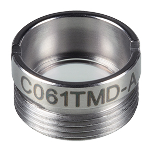 C061TMD-A - f = 11.0 mm, NA = 0.2, Mounted Aspheric Lens, ARC: 350 - 700 nm