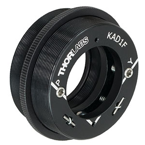 KAD1F - SM1.5-Threaded Kinematic Pitch/Yaw Adapter for Ø1in Optics