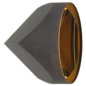 PS975-M01B - Specular Retroreflector, Ø25.4 mm, L = 21.9 mm, Gold Coating: 800 - 2000 nm