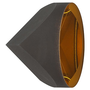 PS976-M01B - Specular Retroreflector, Ø50.0 mm, L = 41.9 mm, Gold Coating: 800 - 2000 nm