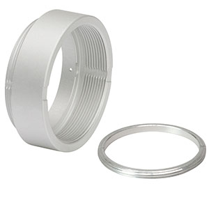 SM1L03V - Vacuum-Compatible SM1 Lens Tube, 0.30in Thread Depth, One Retaining Ring Included