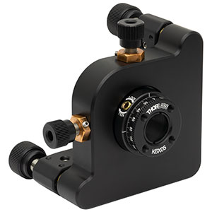 K6X05 - 6-Axis Locking Kinematic Mount for Ø1/2in Optics