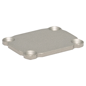 EEAEP - Blank End Plate for Compact Device Housings, 1.00in x 1.25in