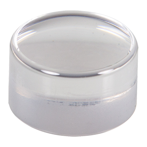 354220 - f= 11.0 mm, NA = 0.3, WD = 6.9 mm, Unmounted Aspheric Lens, Uncoated