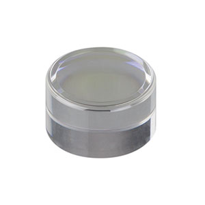 355110-B - f = 6.24 mm, NA = 0.40, Unmounted Geltech Aspheric Lens, AR: 600 - 1050 nm