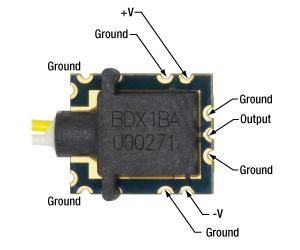 BDX1 External Pin Connections
