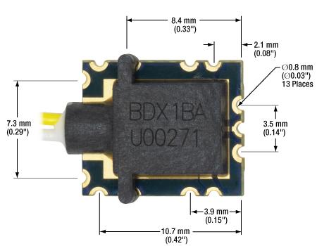 BDX1 Dimensions Top