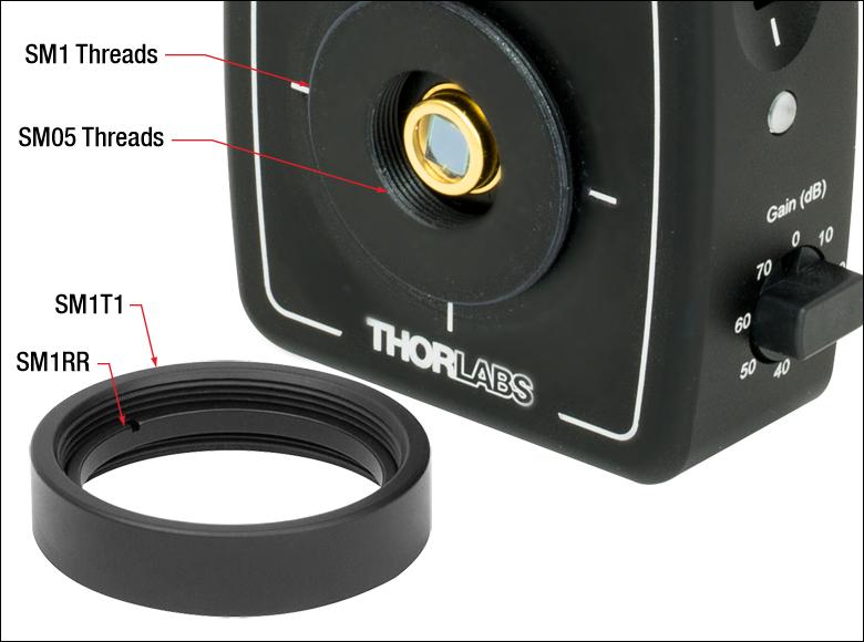 Pda10cs thorlabs