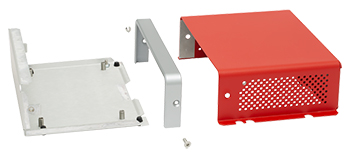 EC1U Enclosure Disassembled