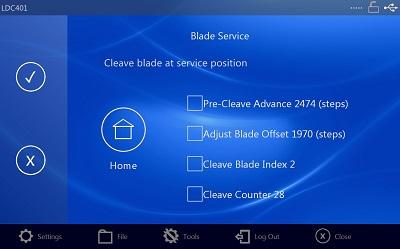 LDC401 Blade Service