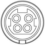 4-Pin Mini DIN