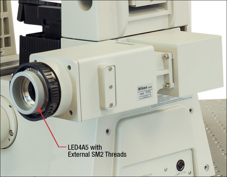 Adapters for Nikon Eclipse Ti Microscopes