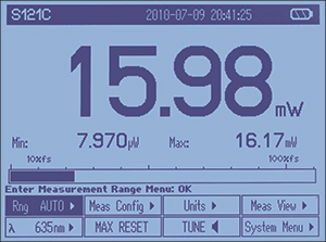 PM100D Numeric Display