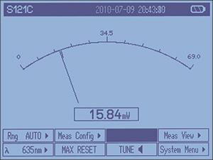 PM100D Needle Display